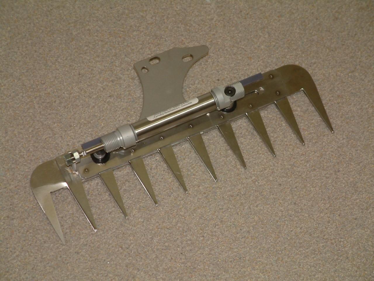 Patentschaar®  Kaak Knipmachine RVS 285 mm lang, steek 30 mm, 10 tanden
