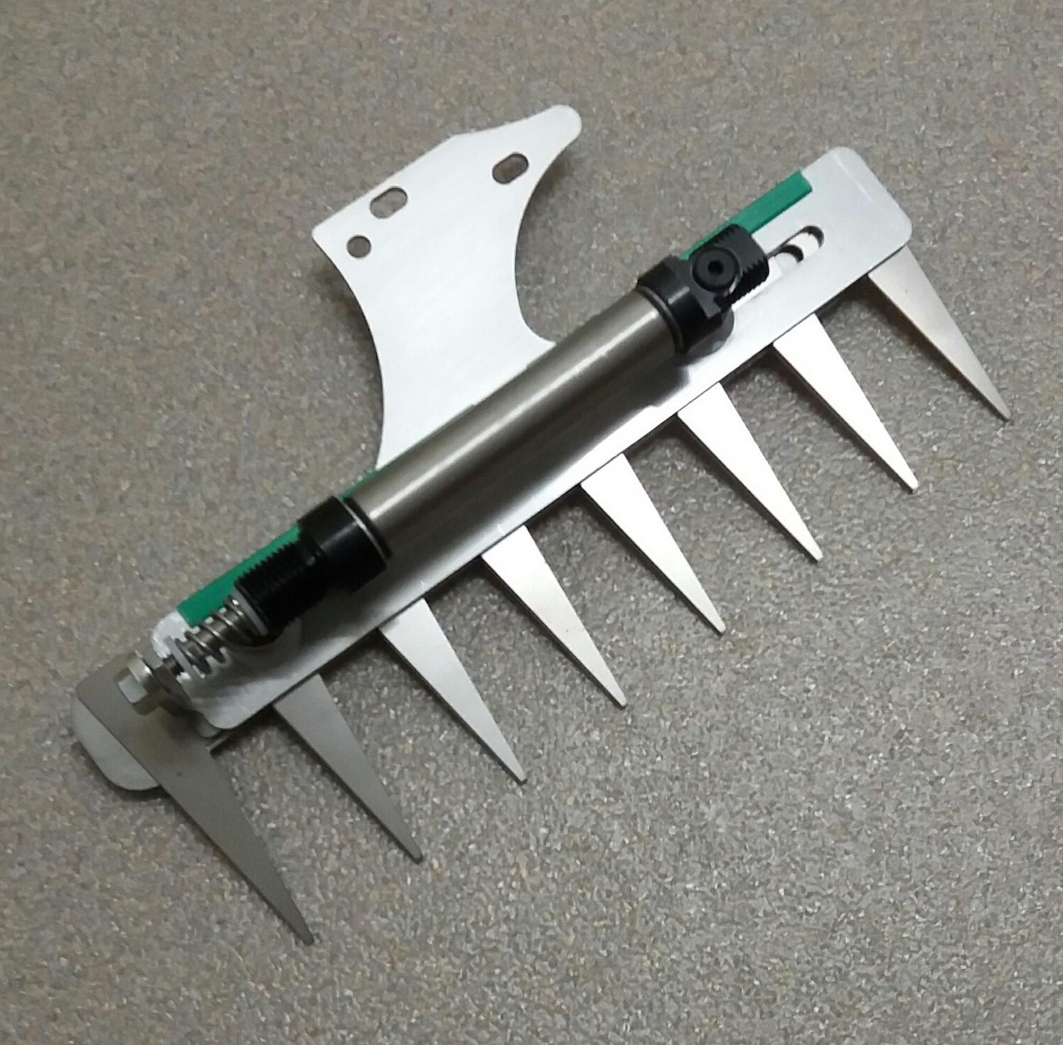 Patentschaar®  Kaak Knipmachine RVS 225 mm lang, steek 30 mm, 8 tanden