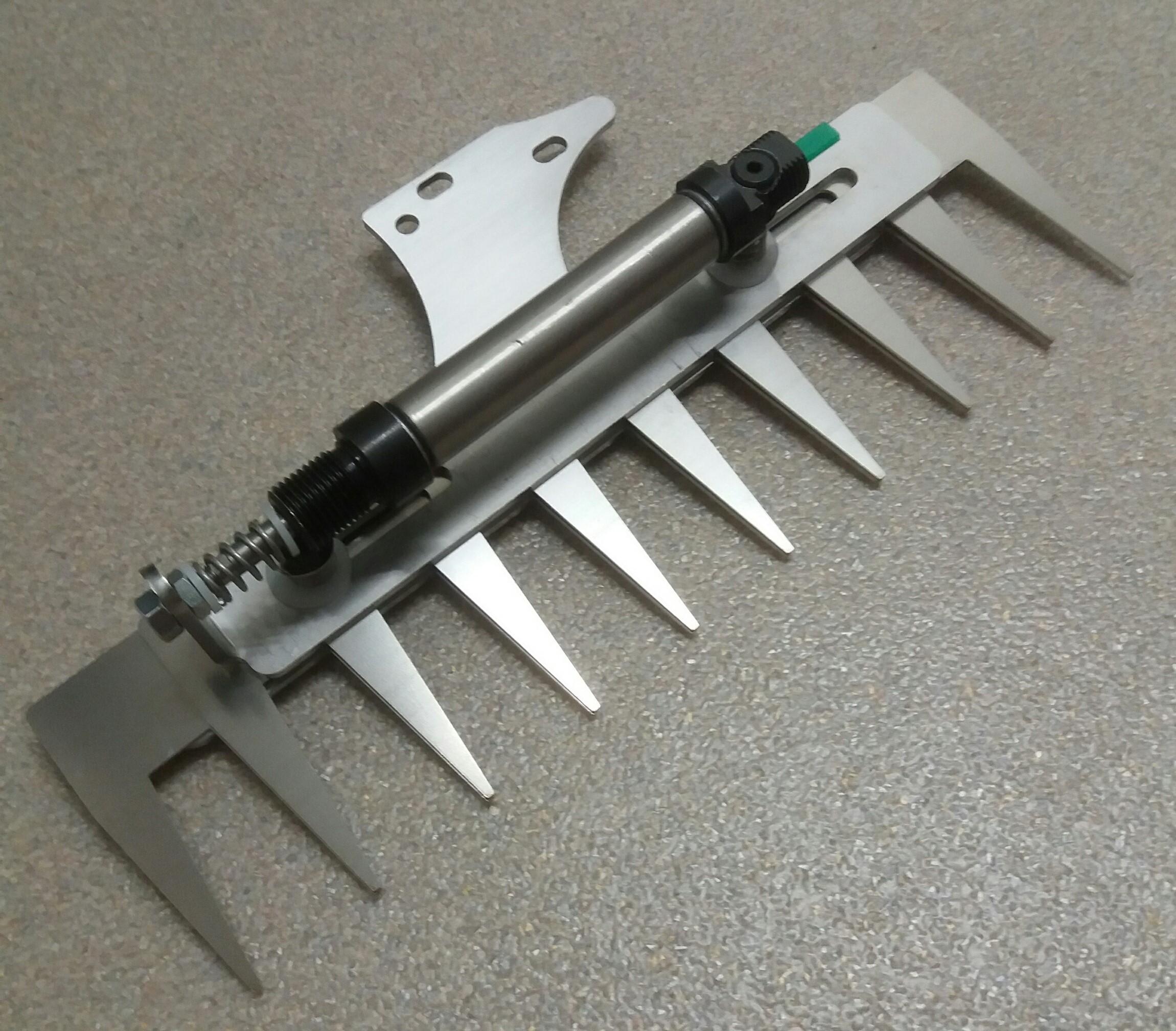 Patentschaar®  Kaak Knipmachine RVS 275 mm lang, steek 29 mm, 10 tanden