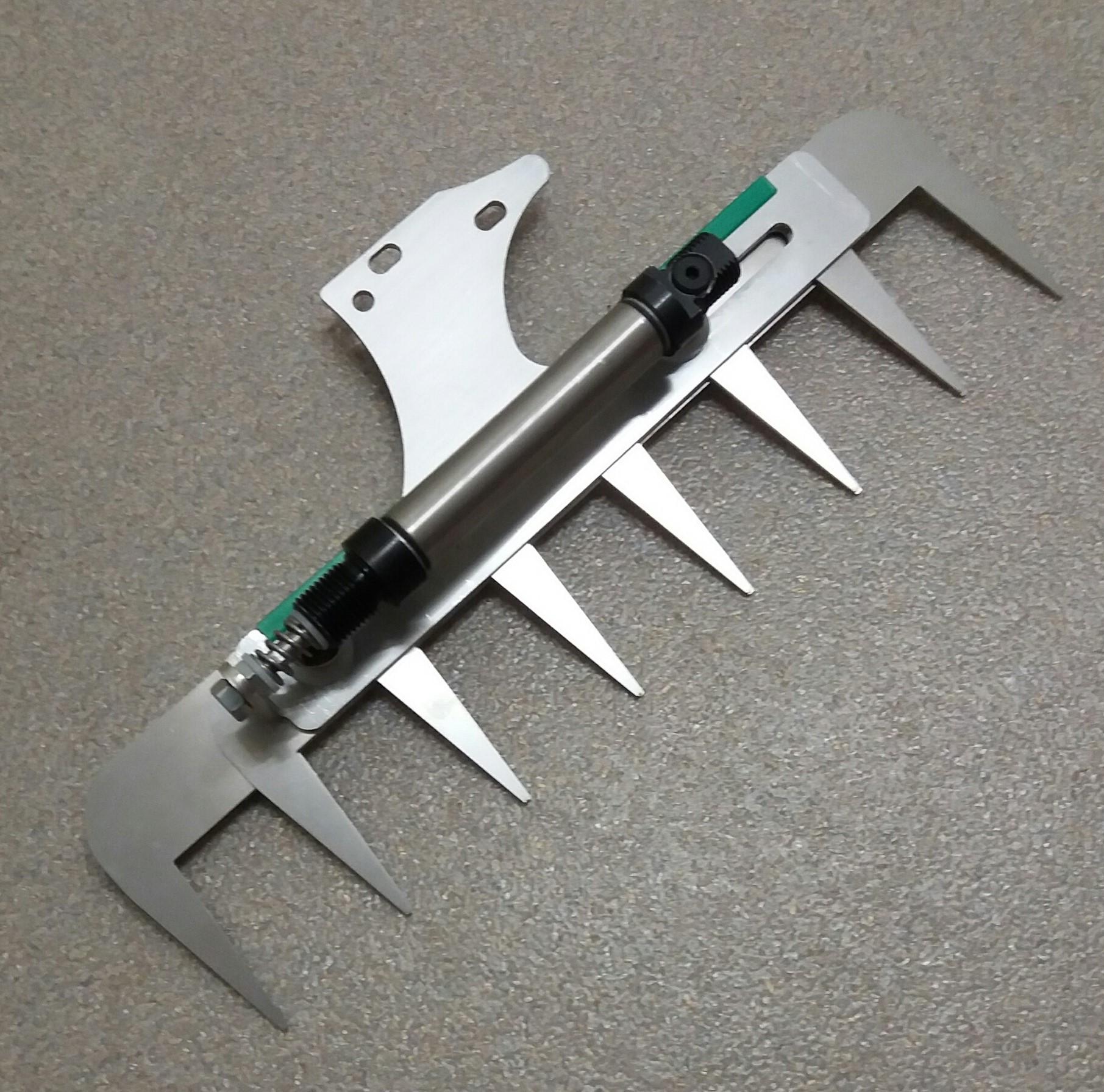 Patentschaar®  Kaak Knipmachine RVS 300 mm lang, steek 40 mm, 8 tanden
