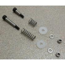 Patentschaar®  Pneumaat Set Sleufschroeven M5x6x30mm en M5x6x16mm Compleet.