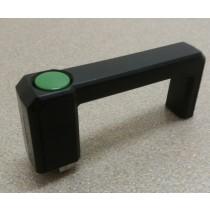 Patentschaar®  Handgreep, links, met geïntegreerd 5/2 ventiel voor meerlingscharen. (pneuM5)