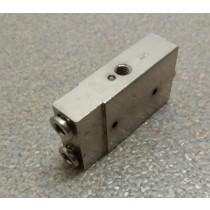 Patentschaar®  Ventiel voor handgreep met geïntegreerd 5/2 ventiel voor meerlingscharen. (pneuM5)