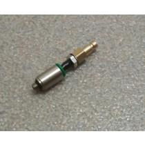 Patentschaar®  Flexibele Luchtsteker voor Pneumatische schaar, 5/2 ventiel M5 - 4 x 2,5 mm PU luchtslang, versie .01
