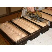 Patentschaar® Pneumaat RVS 304 mm lang, steek 29 mm, 11 tanden
