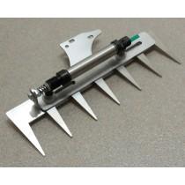 Patentschaar®  Kaak Knipmachine RVS 260 mm lang, steek 40 mm, 7 tanden