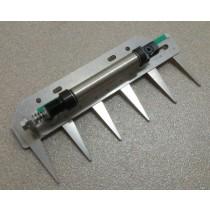 Patentschaar®  Basis Meerlingschaar RVS 220 mm lang, steek 40 mm, 6 tanden