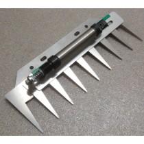 Patentschaar®  Basis Meerlingschaar RVS 255 mm lang, steek 30 mm, 9 tanden