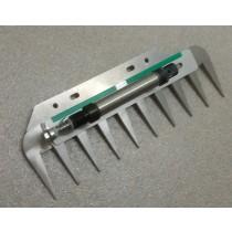 Patentschaar®  Basis Meerlingschaar RVS 266.5 mm lang, steek 28 mm, 10 tanden