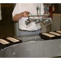 Patentschaar®  Meerlingschaar met Knipgeleider RVS voor 3 scharen, twee-handen beveiliging en scharen.