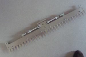 Patentschaar®  Custom made 30 tanden - 885 mm RVS voor automatische knipinstallatie.