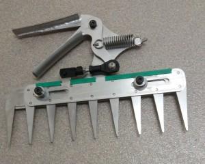 Patentschaar® Handmodel RVS 238,5 mm lang, steek 28 mm, 9 tanden